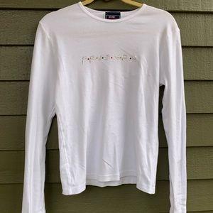 Vintage Friends T Shirt Sequins 90's NBC S M L XL